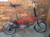 Brompton Folding Bicycle M3L YORK