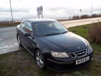 Saab 9-3 1.8 non-turbo petrol, part service history, good overall condition