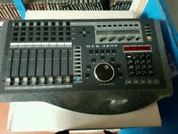 MCS-3800 mixer Sound video mixing MiDi cable for sound mixing MiDi cable + VGA for video editing