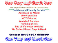 Manchester Cars And Vans Scrap and Car Recovery Services 07507 658599 We Cover The North West Area