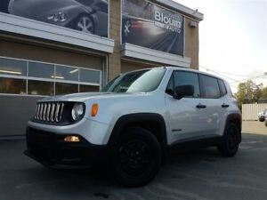 2015 Jeep Renegade Sport, 2x4, Man, 23451km, Gar. Prolongée