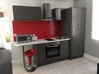 newly decorated fully furnished flat set close to sefton park, bills included private entrance