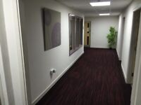 Serviced Office - 370 & 160 sq ft Office to rent with all inclusive bills