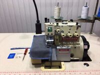 Yamato AZ 6020H 4Thread Overlock Auto Foot Lift &Cut Industrial Sewing Machines