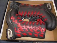 Madfish Big Flame Boots Size 7/41 (Multisex) Brand New, Never Worn & Still in original box
