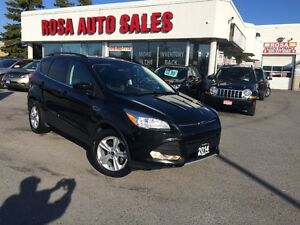 2014 Ford Escape NAVIGATION BLUETOOTH LEATHER BACK UP CAMERA +SE