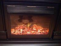 Beautiful electric high efficiency fireplace for sale