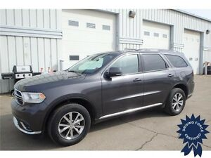 2016 Dodge Durango Limited All Wheel Drive - 22,293 KMs, Seats 6