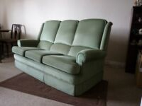 Parker Knoll 3 seat settee & 2 chairs