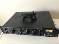 Universal Audio LA-610 Mk ii tube microphone preamp/compressor, excellent condition, 2u rack