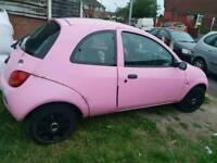 Pink Ford KA 2002