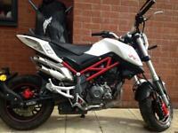 Benelli Tornado Naked Trè 125cc Motorbike Not Moped