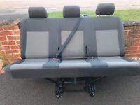 VW Transporter Triple Bench Seat