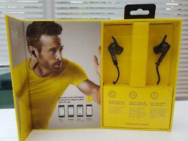BNIB Jabra Sport Pulse Wireless Bluetooth Headphones with Built-in Heart-Rate Monitor