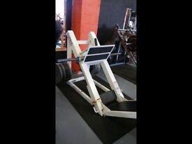 Cybex plate loaded leg press