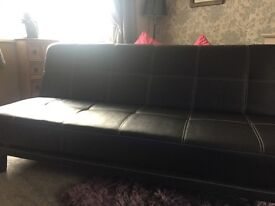 Bed settee. Double