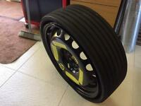 Q5 collapsible spare wheel 18""