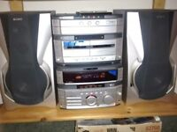 Sony MHC - W550 hifi system, Superb Quality sound .