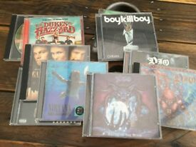 Dio Nirvana Music Assortment CDs Used