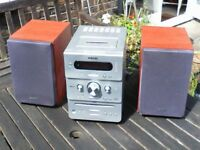 Sony HCD GPX9 Micro Stereo System with CD, Cassette, DAB Radio