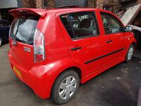 DAIHATSU SIRION SPORT 2005 59800 MILES 1.3 PETROL MANUAL 5 DOOR HATCHBACK RED
