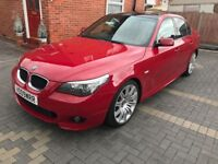 2009 BMW 520D M SPORT, 6 SPEED ,MANUAL, FULL LEATHER SEATS