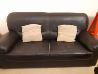 Lovely leather settee
