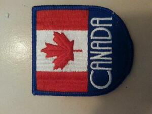 badge of Canadian flag