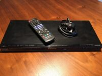 Panasonic DMP-BD75 Blu-ray Disc Player, with remote, Netflix compatible