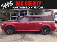 2009 Ford Flex SEL  $65.97 A WEEK + TAX OAC - BAD CREDIT APPROVA
