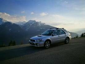 Subaru impreza wrx estate 2002