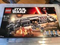 Star Wars Lego 75140 Resistance transport BNIB