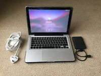 Apple Macbook Pro (13-inch Mid 2009) A1278 with software pkg. 240GB SSD, 8GB Memory, & much more