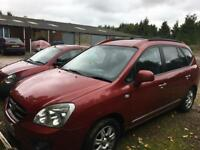 Kia Carens 2007 diesel MOT'd family car cheap, zafira scenic galaxy