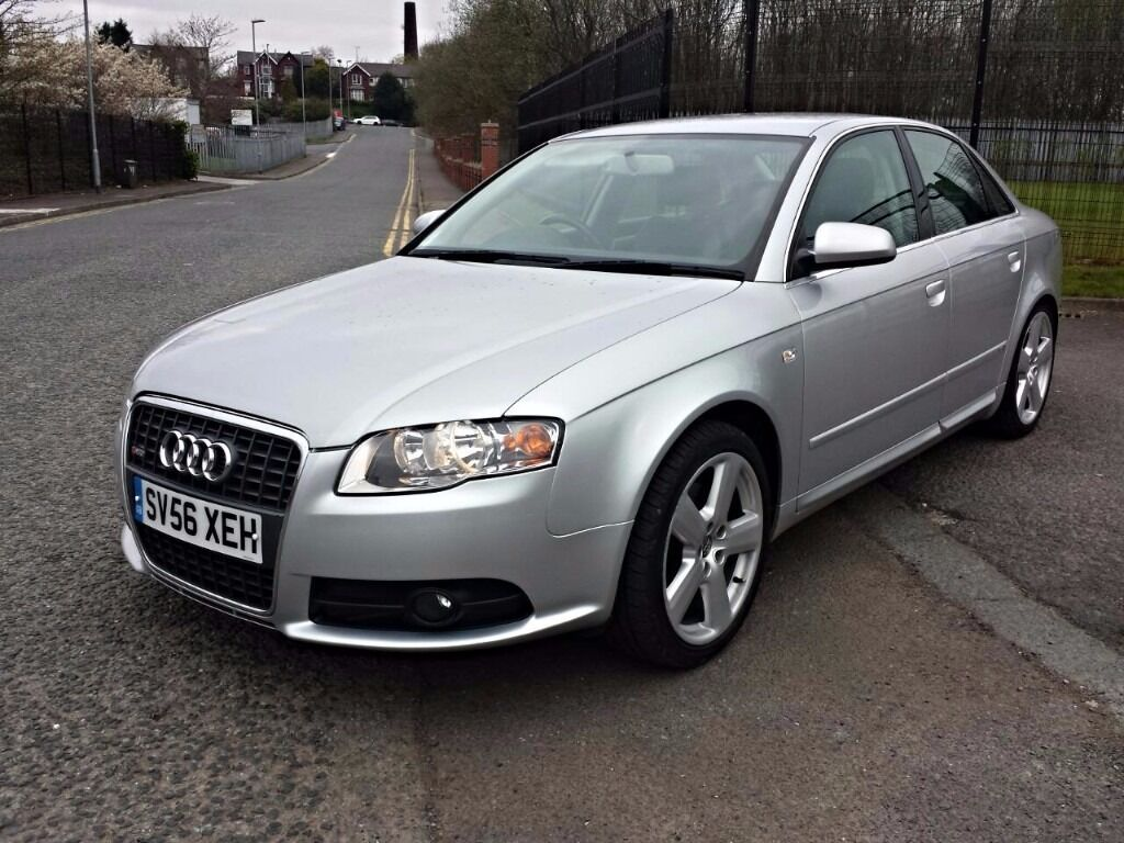 2006 audi a4 quattro 2 0 tdi s line 210 bhp stage 1 remap new clutch 3 months warranty p x. Black Bedroom Furniture Sets. Home Design Ideas