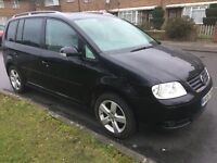 VOLKSWAGEN TOURAN 2000cc SPORT FSi, 7 SEATER, ONLY ONE OWNER FROM NEW, FULL VW SERVICE HISTORY, VGC