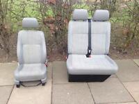 VW T5 Double & Single front seats