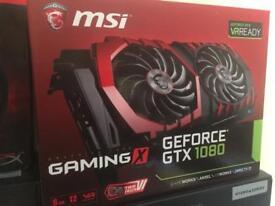 MSI Gaming X GeForce GTX 1080 8GB G5X