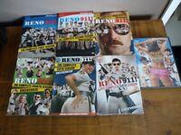 Reno 911 DVD'S Seasons 1 to 6 & Reno 911 The Movie