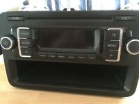 RCD 210 VW Radio - Brand new - out of 2015 Transporter