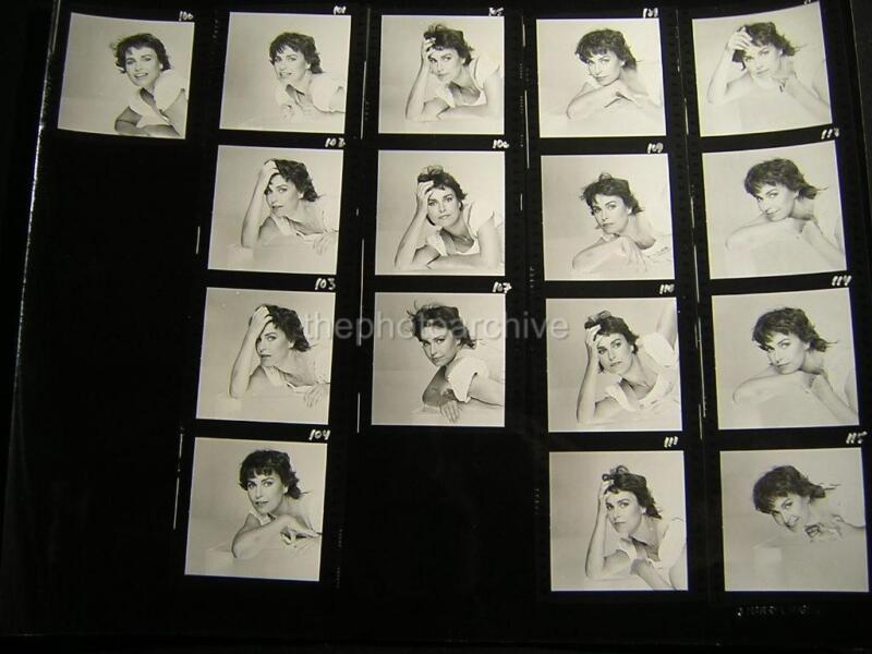 LINDA MEIKLEJOHN 11x14 CONTACT SHEET PHOTO By Harry Langdon OS42