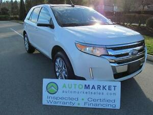 2013 Ford Edge AWD, SEL,  LOADED, INSP, WARR