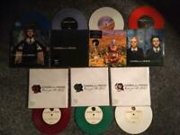 "Funeral for a friend 7"" coloured vinyl singles."