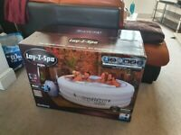 Lay-z-Spa Vegas Hot tub(4 to 6 people) brand new sealed in box! With manufacturer's warranty