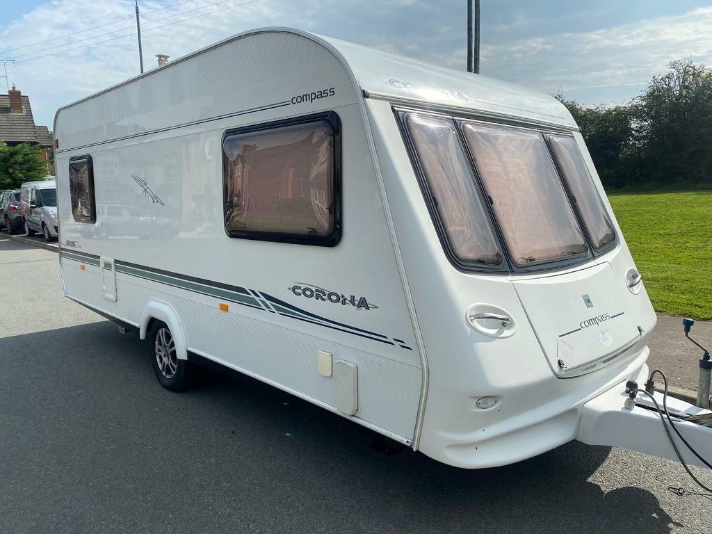 20 berth compass touring caravan 20 owner   in Strabane, County ...