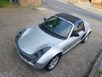 smart roadster convertible low mileage not fortwo or fiesta
