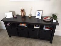 Ikea Hemnes console table / side table / shelving unit - great condition
