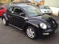 vw beetle 2.0 petrol x-reg 2000! mot-may 2017! very good runner and drive! cheap beetle at £575!!!