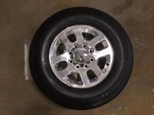Take Offs: Set of (4) 2015 Chevrolet Silverado 2500HD LTZ Wheels