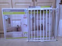 Lindam Extending Metal Safety Gate x 3